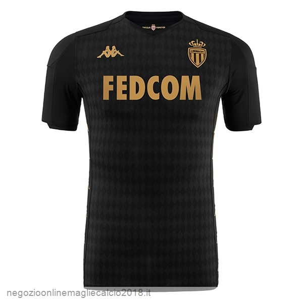 Away Online Maglie Calcio AS Monaco 2019/20 Nero