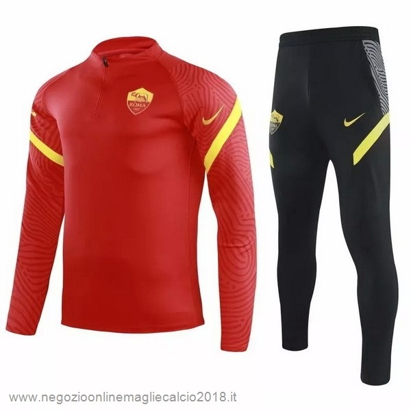 Giacca AS Roma 2020/21 Rosso Nero