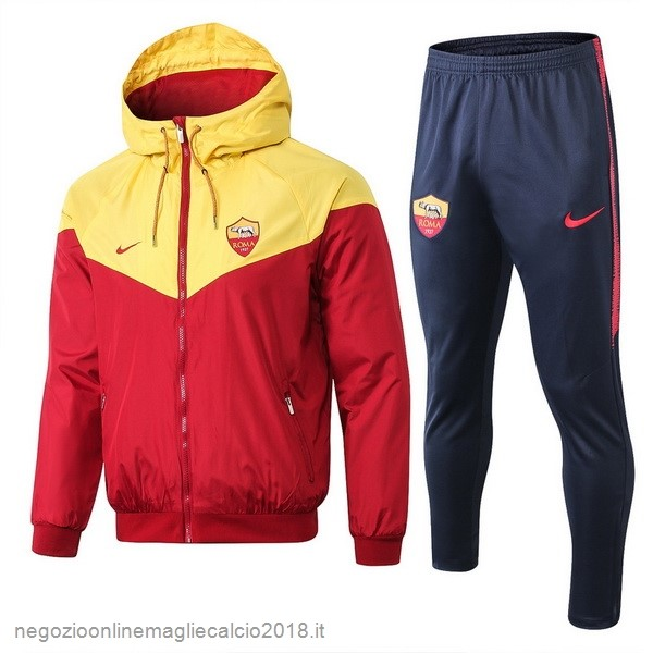 Online Set Completo Giacca a vento AS Roma 2019/20 Rosso