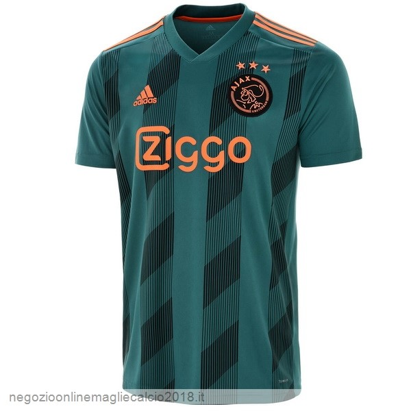 Away Online Maglie Calcio Ajax 2019/20 Verde