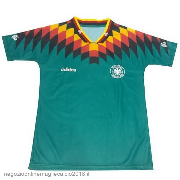 Away Online Maglie Calcio Germania Retro 1994 Verde
