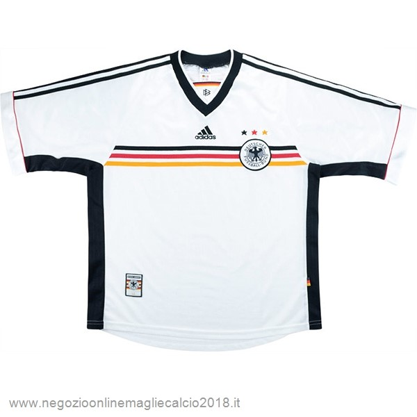 Home Online Maglia Germania Rétro 1998 Bianco