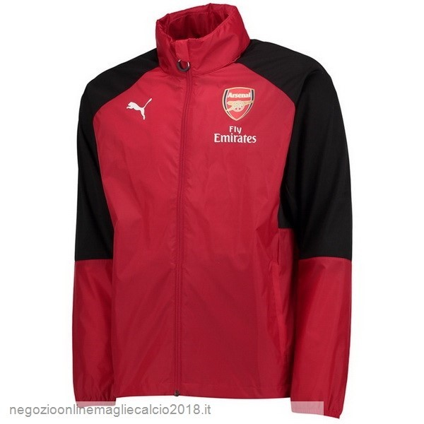 Online Giacca a vento Arsenal 2019/20 Rosso Nero