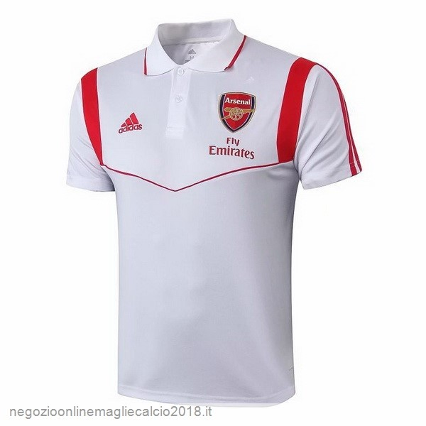 Online Polo Arsenal 2019/20 Bianco Rosso