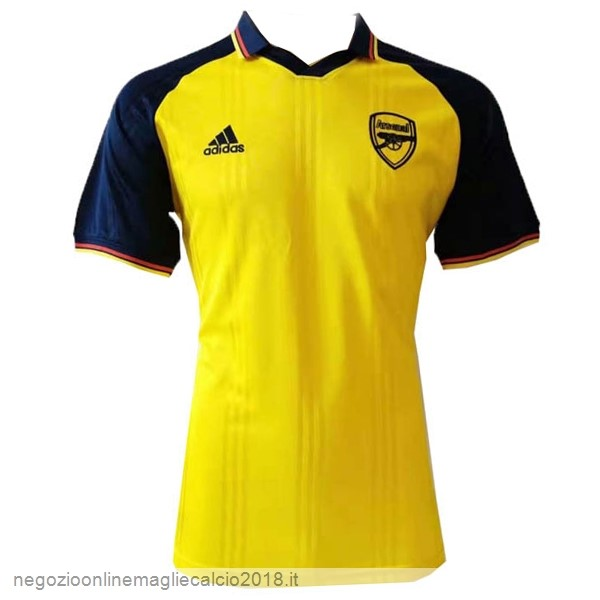 Online Polo Arsenal 2019/20 Blu Giallo
