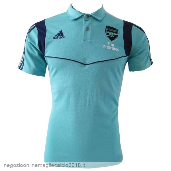 Online Polo Arsenal 2019/20 Blu Luce