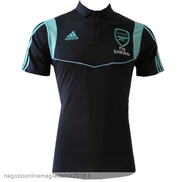 Online Polo Arsenal 2019/20 Nero Blu