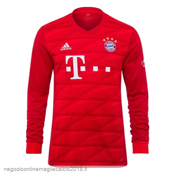 Home Online Manica lunga Bayern München 2019/20 Rosso