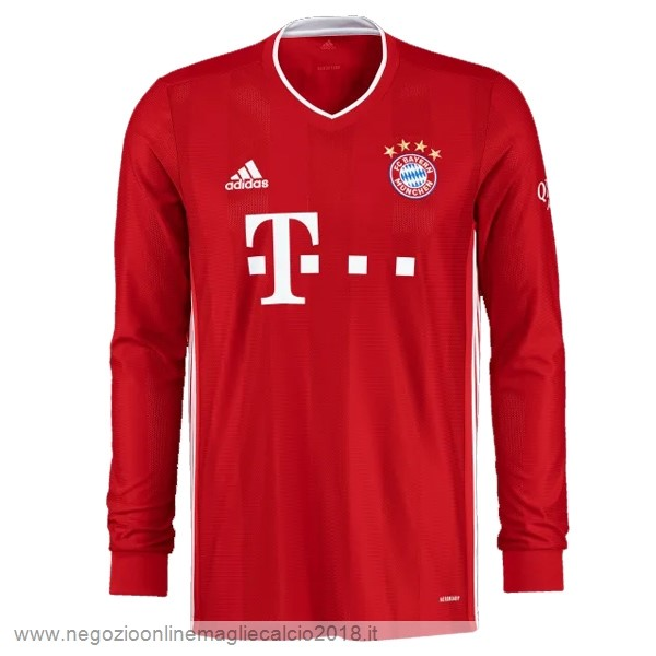Home Online Manica lunga Bayern München 2020/2021 Rosso