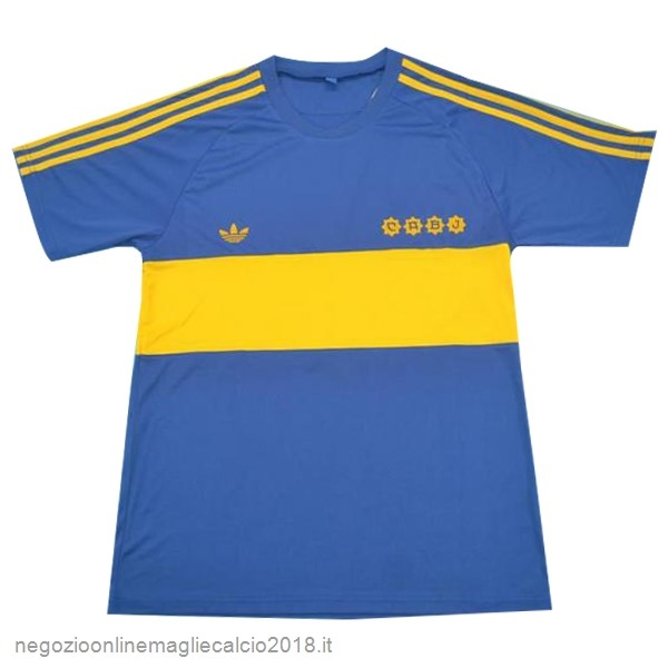 Home Online Maglie Calcio Boca Junioros Retro 1881 Blu