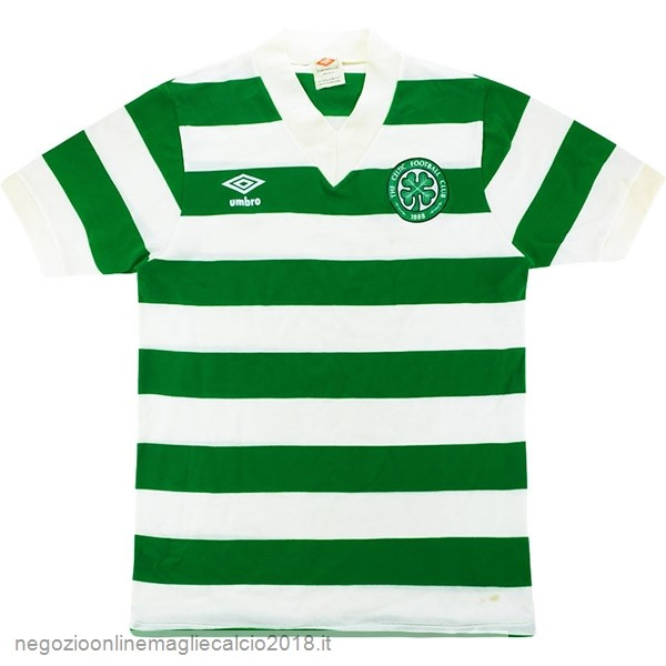 Home Online Maglie Calcio Celtic Retro 1980 1982 Verde