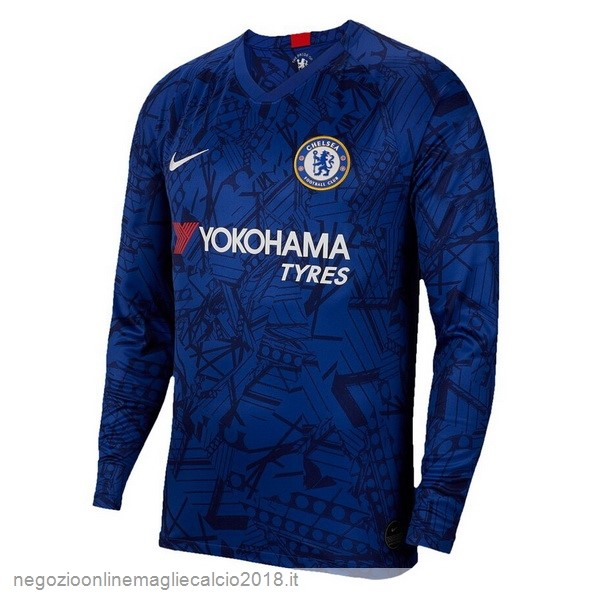 Home Online Manica lunga Chelsea 2019/20 Blu
