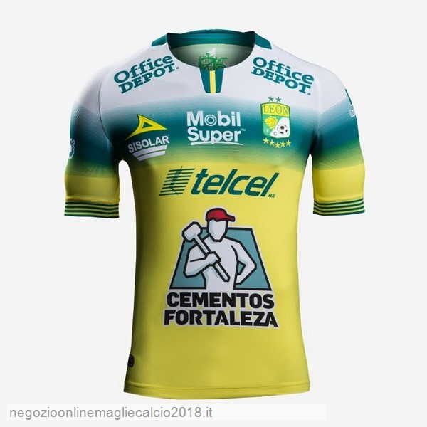 Away Online Maglie Calcio Club León 2019/20 Giallo
