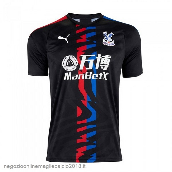 Away Online Maglie Calcio Crystal Palace 2019/20 Nero