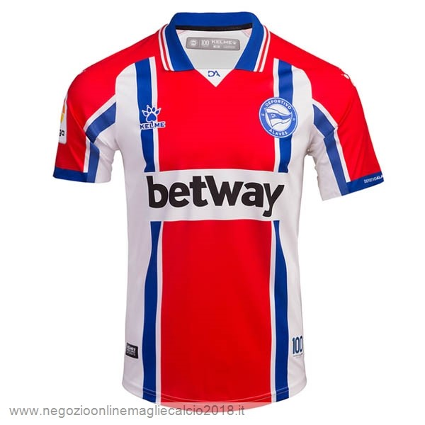Away Online Maglia Alavés 2020/21 Rosso