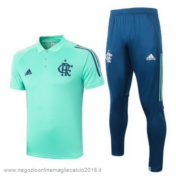 Set Completo Polo Flamengo 2020/2021 Verde