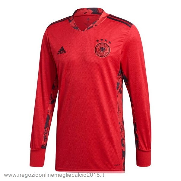 Home Online Manica lunga Portiere Germania 2020 Rosso