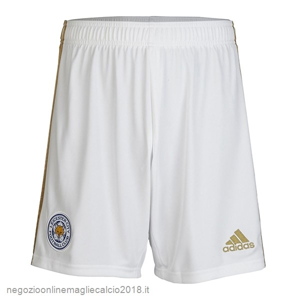 Home Online Pantaloni Leicester City 2019/20 Bianco