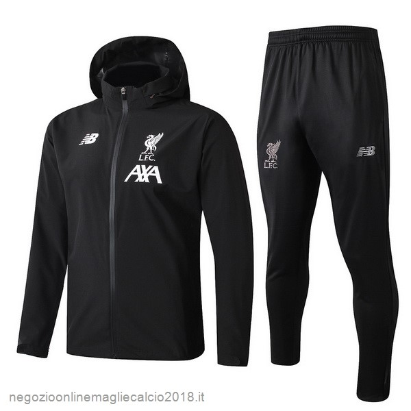 Online Set Completo Giacca a vento Liverpool 2019/20 Nero