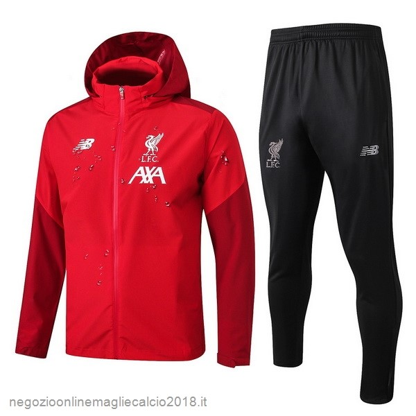 Online Set Completo Giacca a vento Liverpool 2019/20 Rosso Nero