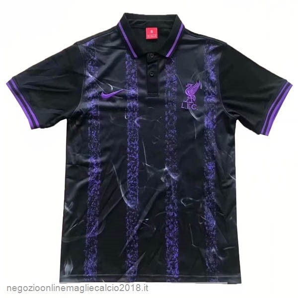 Polo Liverpool 2019/20 Nero Purpureo