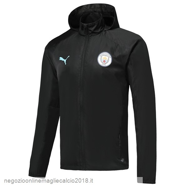 Online Giacca a vento Manchester City 2019/20 Nero
