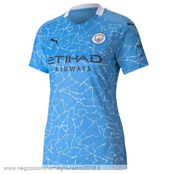 Home Online Maglia Donna Manchester City 2020/2021 Blu