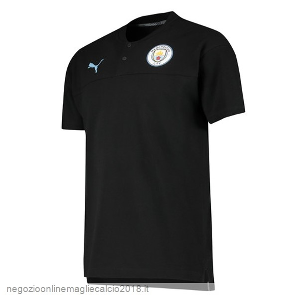 Online Polo Manchester City 2019/20 Nero