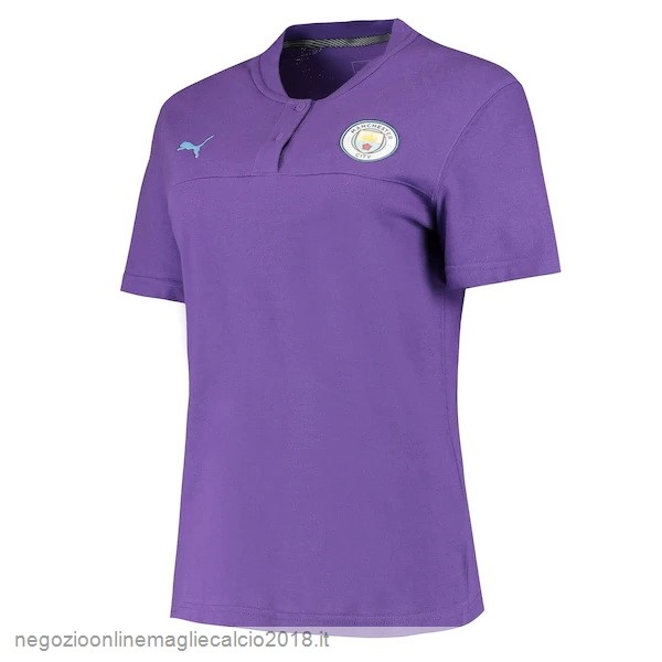 Online Polo Manchester City 2019/20 Purpureo