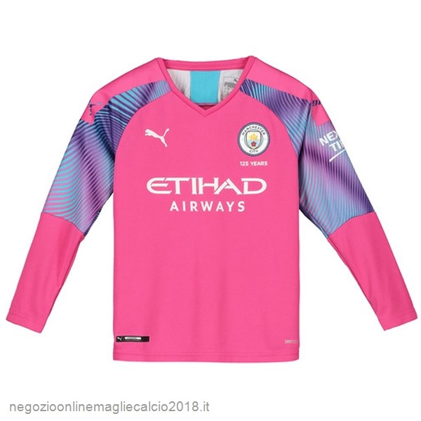 Online Manica lunga Portiere Manchester City 2019/20 Rosa