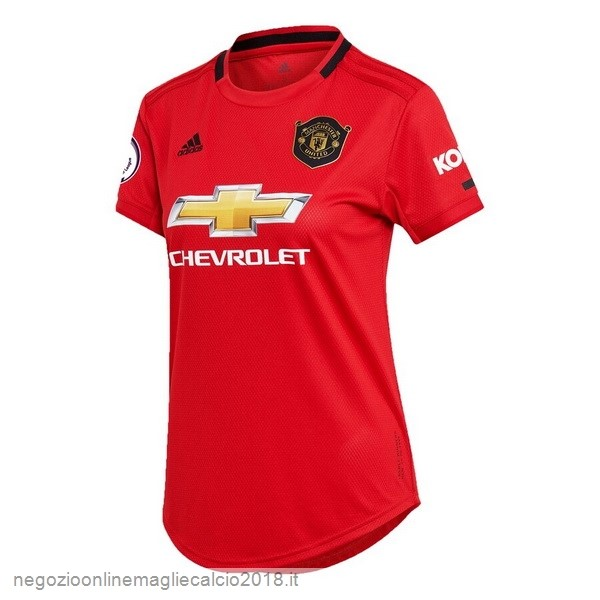 Home Online Maglie Calcio Donna Manchester United 2019/20 Rosso