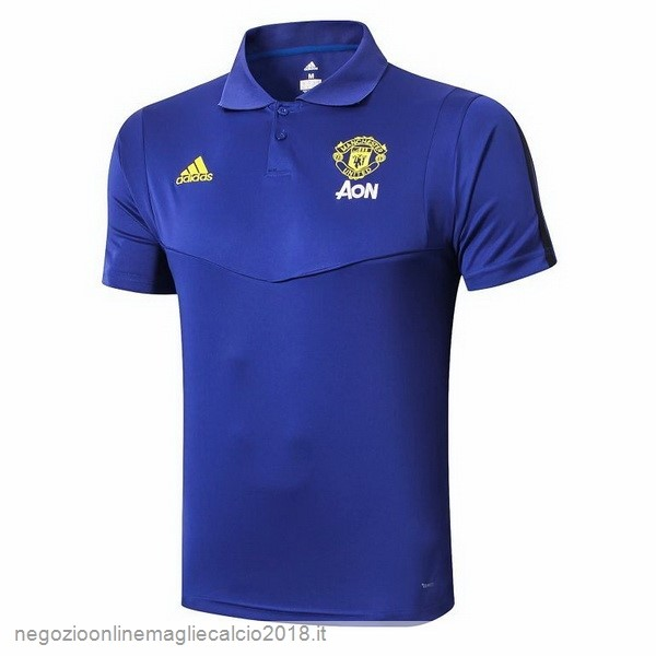 Online Polo Manchester United 2019/20 Blu