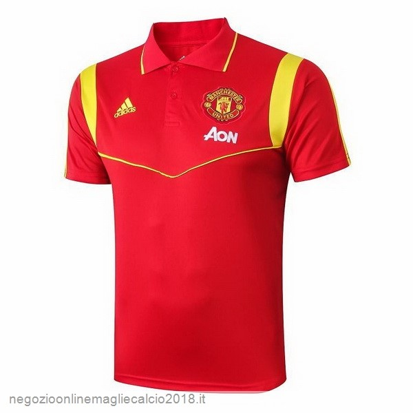 Online Polo Manchester United 2019/20 Rosso Oro