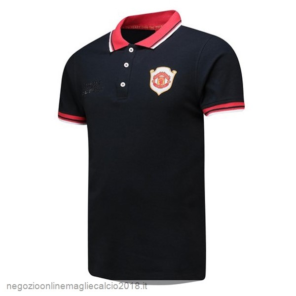 Online Polo Manchester United 20th Nero