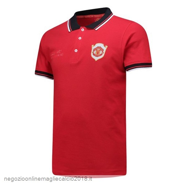 Online Polo Manchester United 20th Rosso