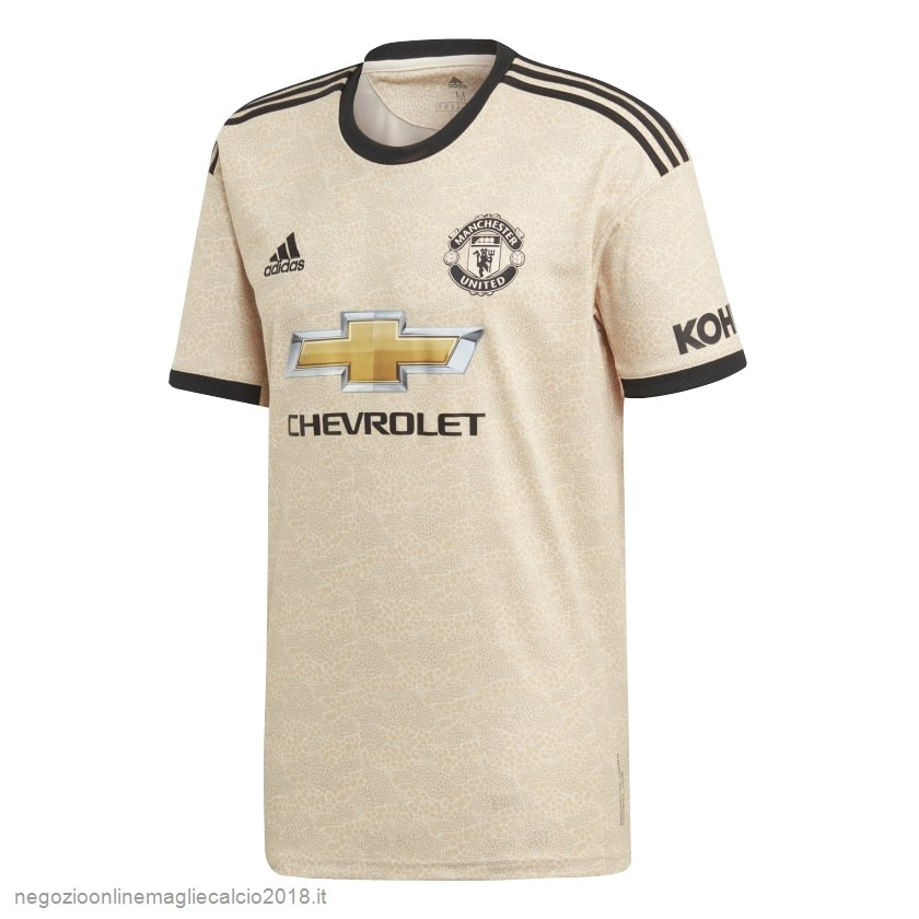 Away Online Maglie Calcio Manchester United 2019/20 Giallo