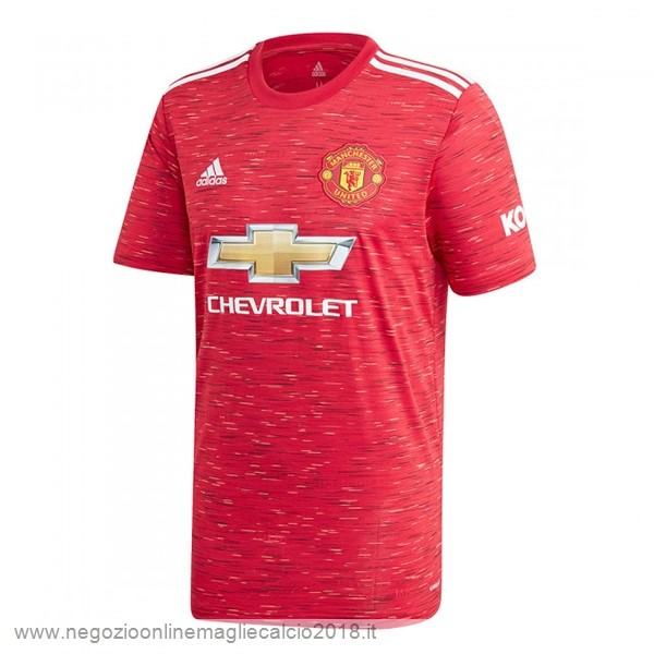 Home Online Maglia Manchester United 2020/2021 Rosso