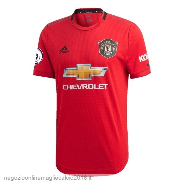 Home Online Maglie Calcio Manchester United 2019/20 Rosso