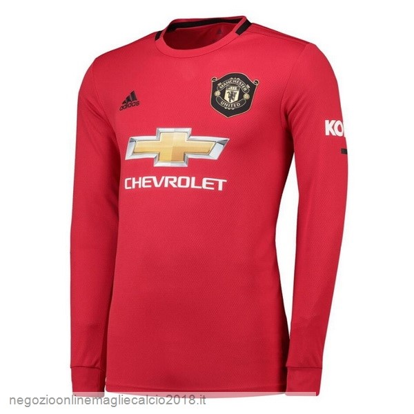 Home Online Manica lunga Manchester United 2019/20 Rosso