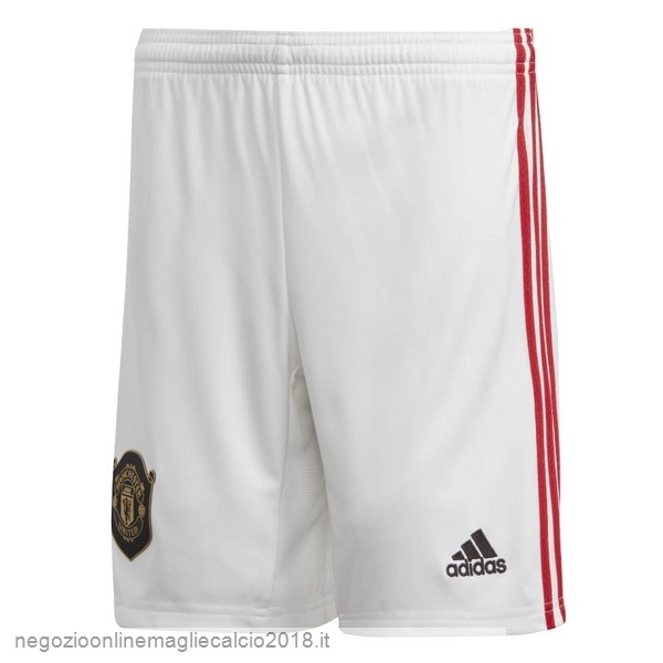 Home Online Pantaloni Manchester United 2019/20 Bianco