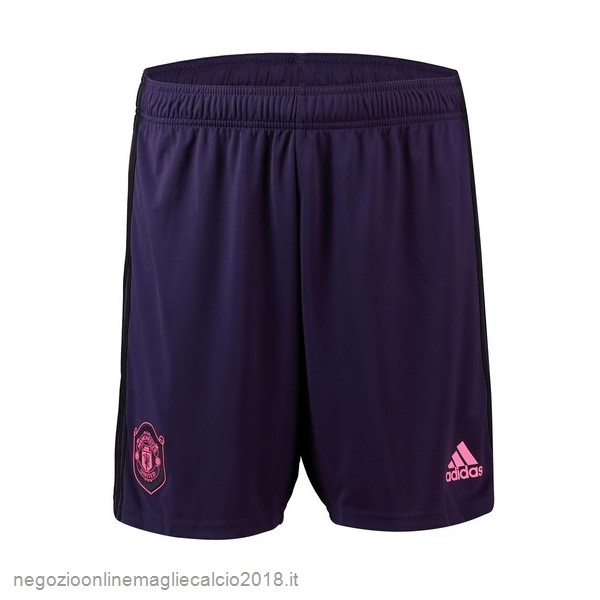 Home Online Pantaloni Manchester United Portiere 2019/20 Purpureo