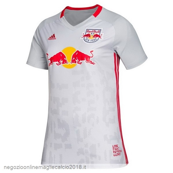 Home Online Maglie Calcio Donna Red Bulls 2019/20 Bianco