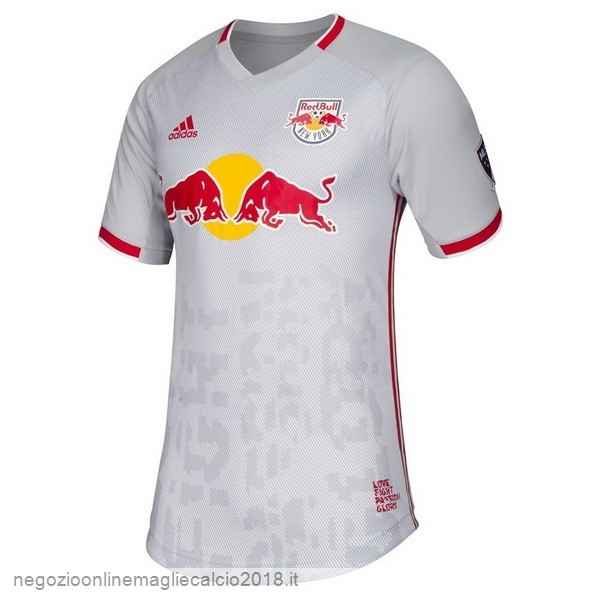 Home Online Maglie Calcio Red Bulls 2019/20 Bianco