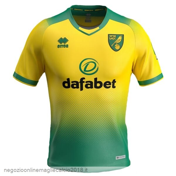 Home Online Maglie Calcio Norwich City 2019/20 Verde