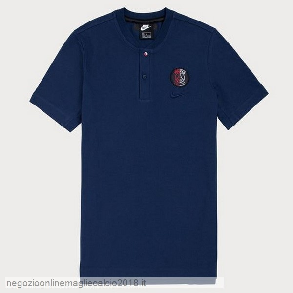 Online Polo Paris Saint Germain 2019/20 Blu Navy