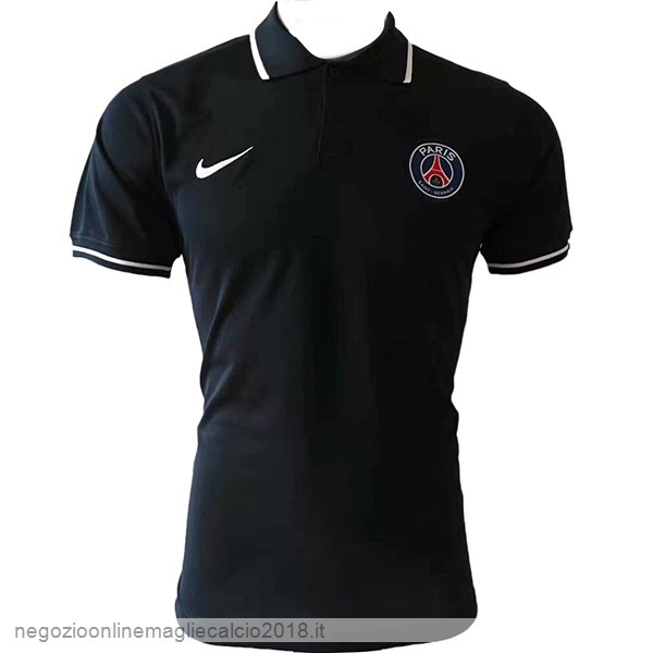 Online Polo Paris Saint Germain 2019/20 Nero Bianco