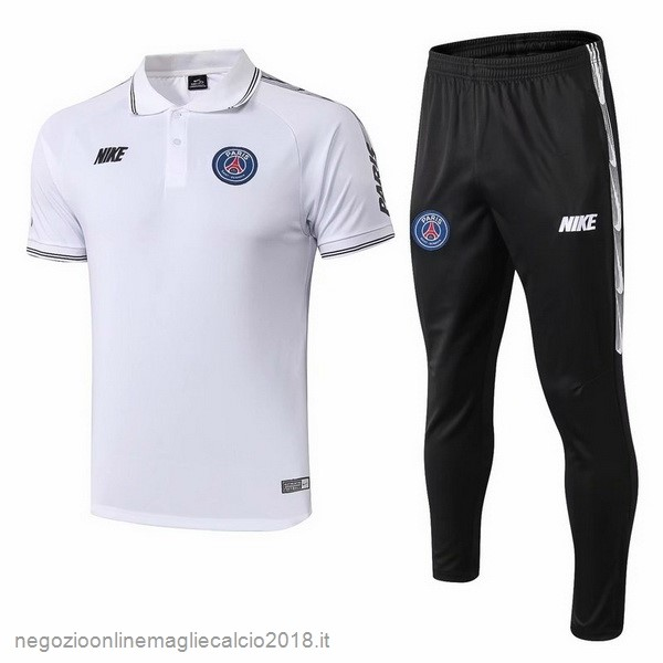Online Set Completo Polo Paris Saint Germain 2019/20 Bianco