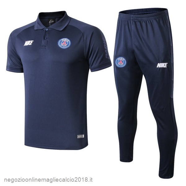Online Set Completo Polo Paris Saint Germain 2019/20 Blu