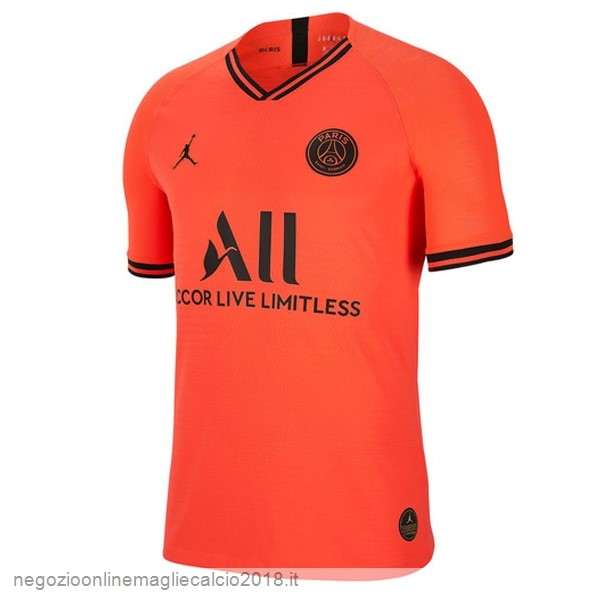 Away Online Maglie Calcio Paris Saint Germain 2019/20 Oroange