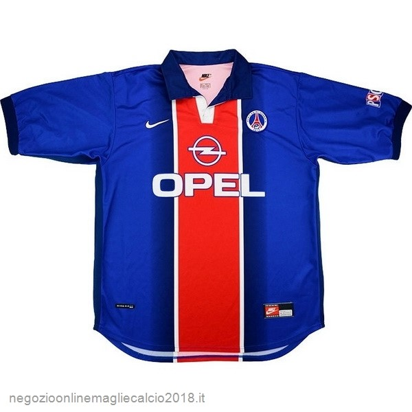 Home Online Maglie Calcio Paris Saint Germain Retro 1998 1999 Blu